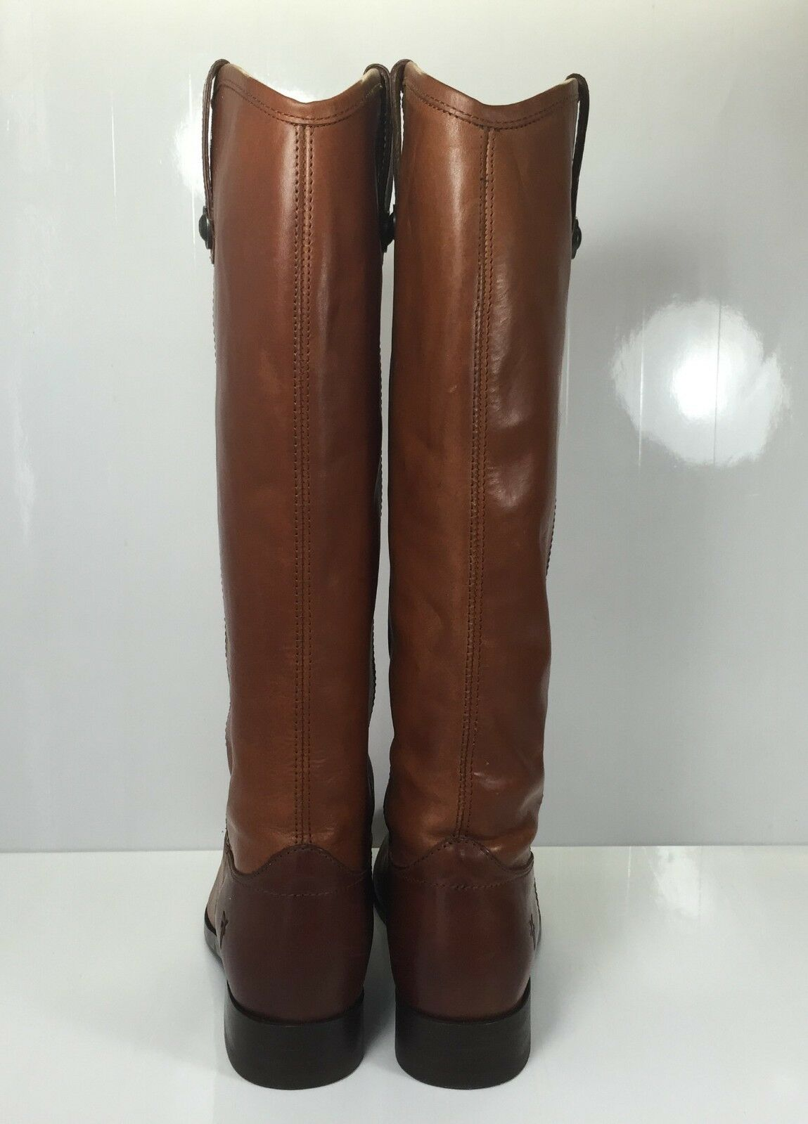 Frye Melissa Button Womens Boot Cognac size 6 B Extended Extended Extended Calf b0aafe