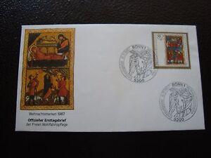Allemacne-Rfa-Envelope-1er-Day-6-11-1987-B4-Germany