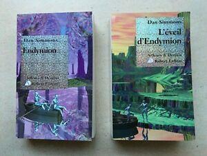 Lot-de-2-livres-Le-Cycle-D-Hyperion-Endymion-Tome-3-L-039-eveil-D-039-endymion-Tome-4