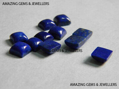 GREAT Lot Of Natural Lapis Lazuli 3x3 mm Round Cabochon Loose Gemstone SALE!