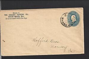 SOUTH-OMAHA-NEBRASKA-1CT-BLUE-ENTIRE-DOUGLAS-CO-DPO-1884-12-VF