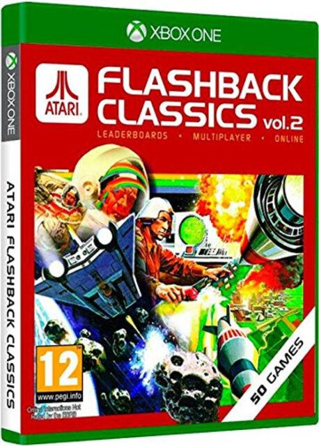 Xbox One Atari Flashback Classics vol. 2 Volume 2 50 juegos neu&ovp