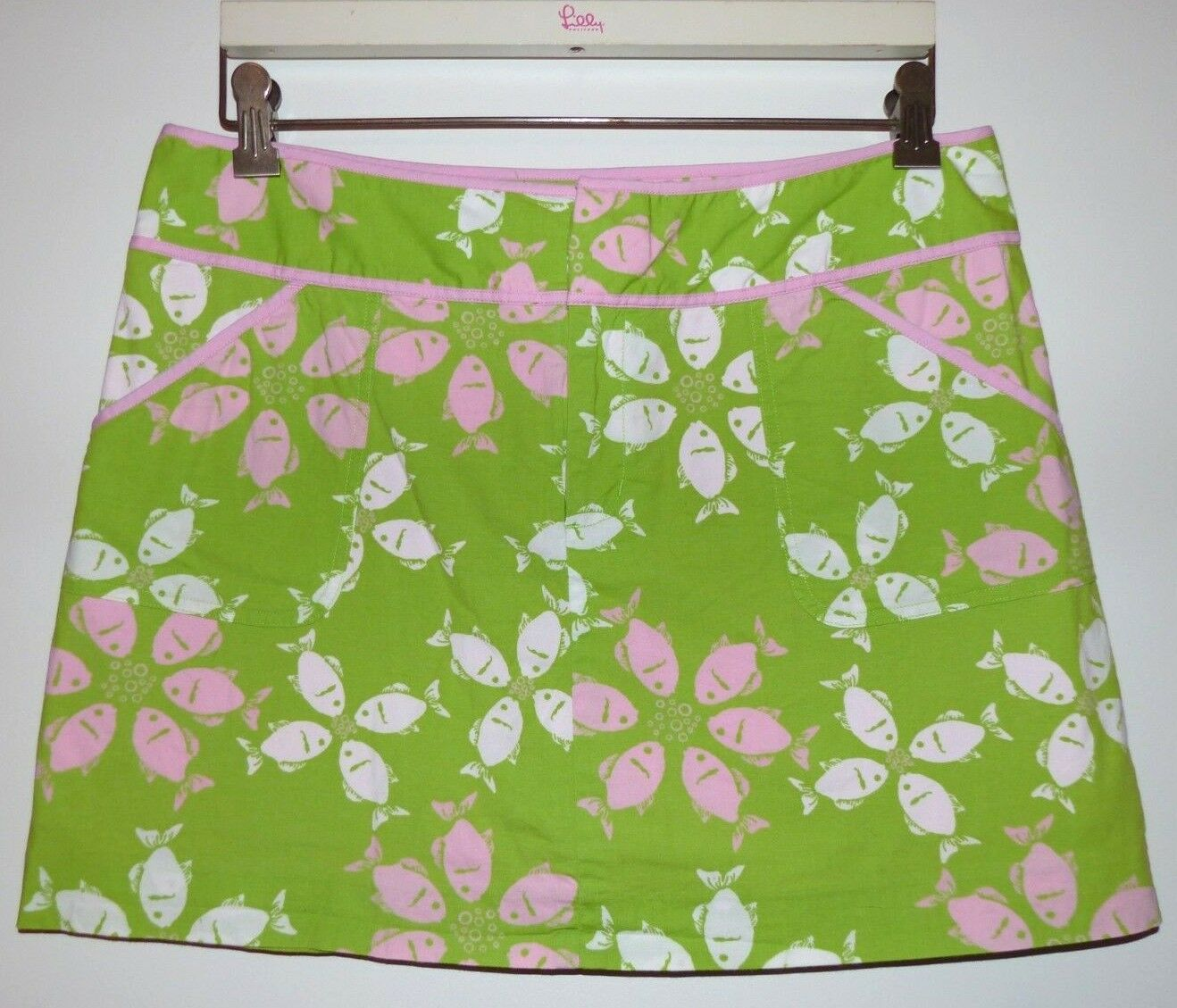 LILLY PULITZER  Hadley Skort   RIDING THE WAVES   Size 10 Excellent Condition