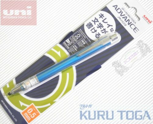 Free ship Uni-Ball KURU TOGA ADVANCE M3-559 WHITE 0.5mm mechanical pencil