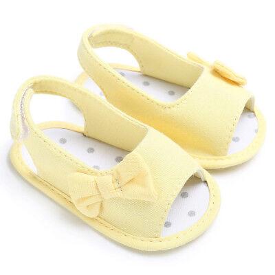 Kids Infant Baby Girl Sandals Floral Party Princess Sandles Summer Beach Shoes