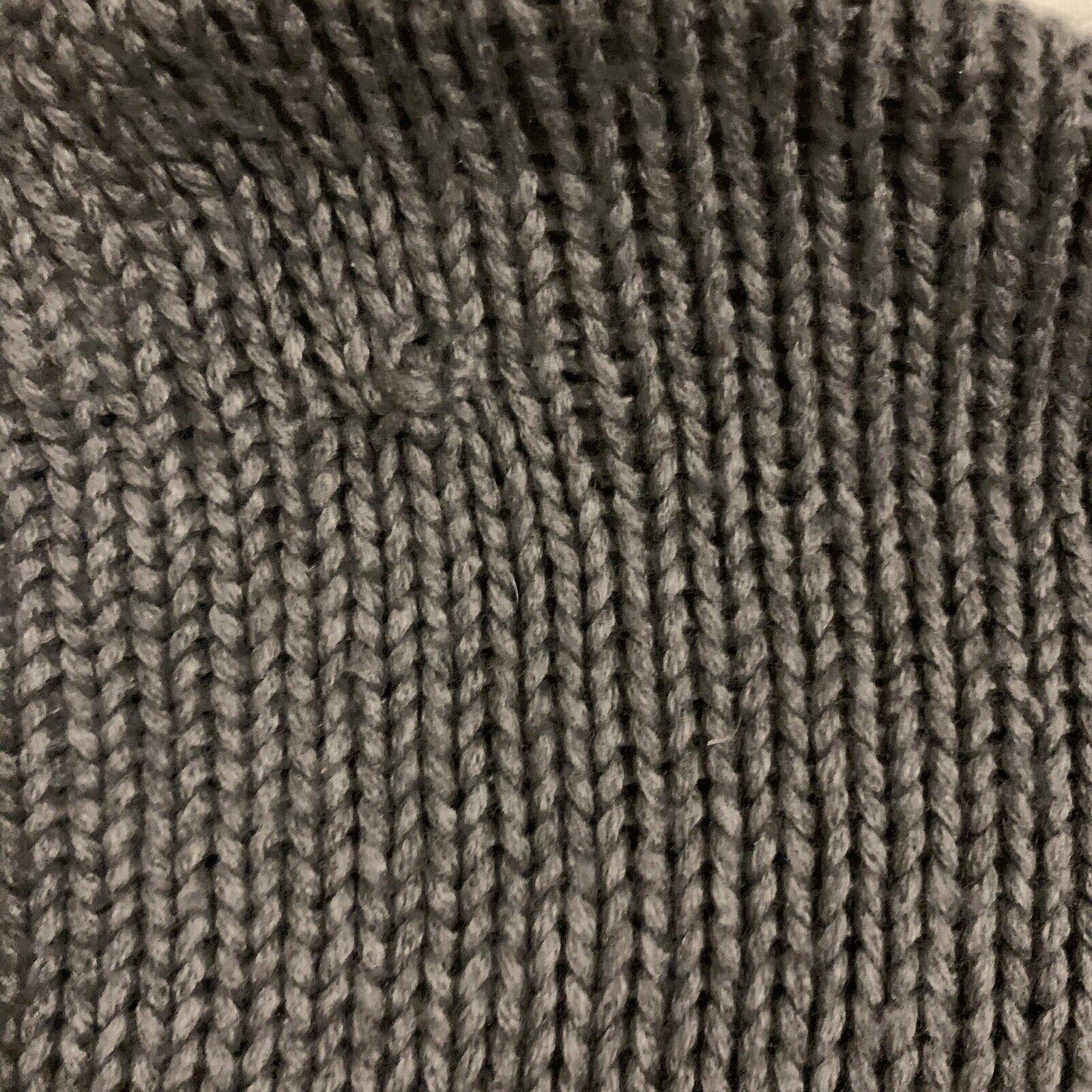 Victoria's Secret varsity letter gray sweater S - image 6