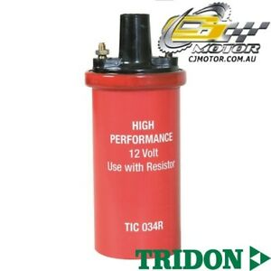 TRIDON-IGNITION-COIL-FOR-Holden-EH-HZ-08-63-01-80-6-Red