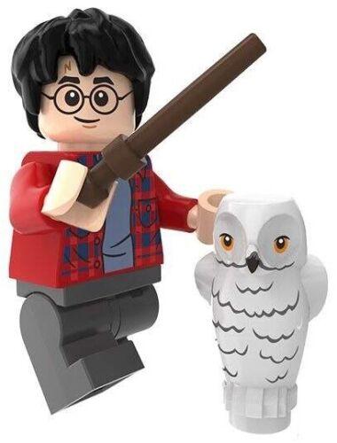 Harry Potter with Hedwig Owl Wizard Custom Lego Mini Figure