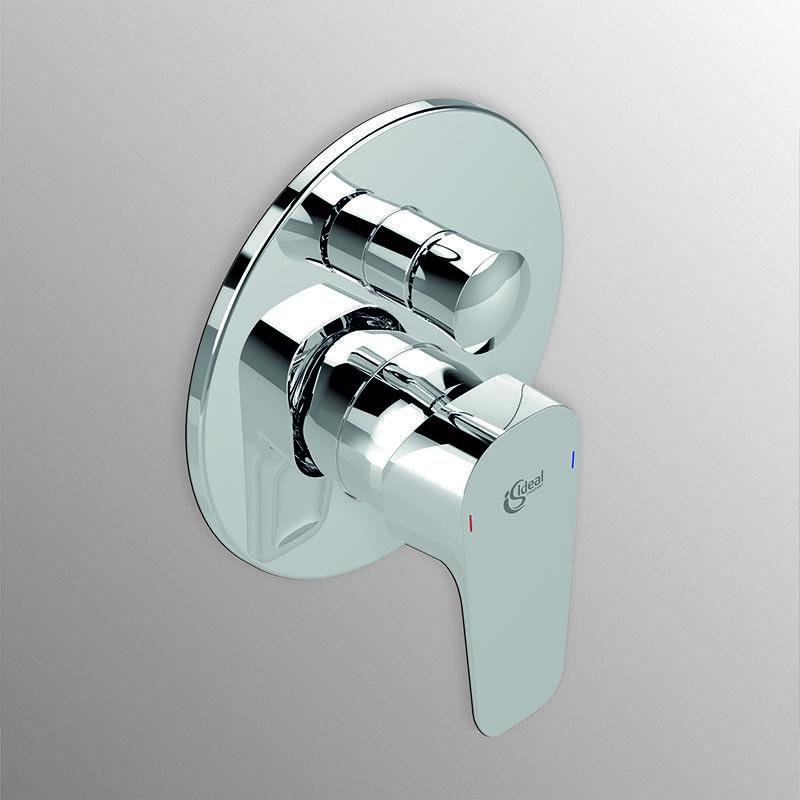 Miscelatore Doccia con deviatore Ideal Standard Ceraplan 3 completo di corpo inc