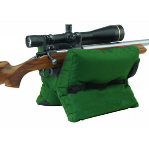 Shooting-Sand-Bag-Set-Rifle-Training-Bench-Rest-Front-Rear-Bag-Pouch-Hunt