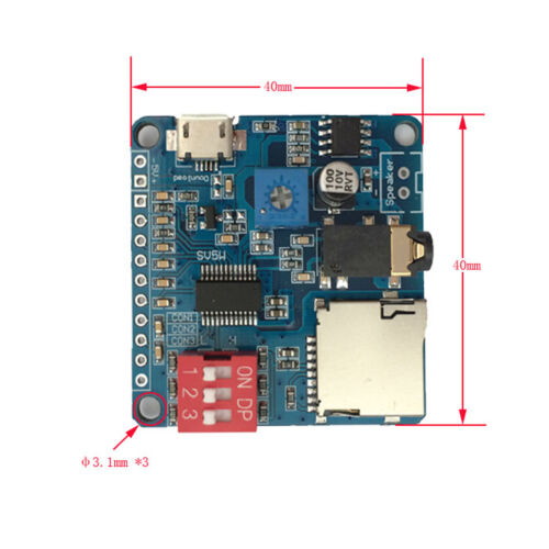 Voice Playback Module Board MP3 Trigger Player SD//TF Card For Arduino ATF