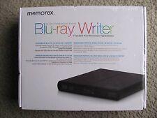 Brand New Memorex External 6x Slim Portable USB 2.0 Multi-Format Blu-Ray Writer