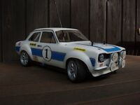 2x body shells Ford Escort mk1 rc car body shell 1/10 scale Retro Racing