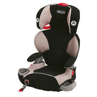 Graco Affix Highback Booster Car Seat With Latch System - Pierce - Free Ship