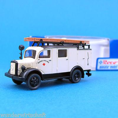 Roco H0 1439 MERCEDES L 1500 ELW Rotes Kreuz DRK Funkwagen MB OVP HO 1:87