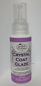 Crystal Coat Glaze For Paper Art- Quilling-Stamping-Polymer Clay 2 fl.oz. BOTTLE