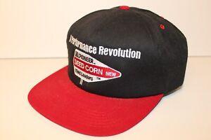 Vintage-1990s-PIONEER-SEED-CORN-FARM-AGRICULTURE-TRUCKER-Snapback-Hat-Cap