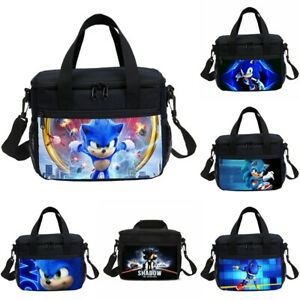 Uk Sonic The Hedgehog Lunch Bags Insulated Bag Picnic Bags Storage Lunch Box Ebay