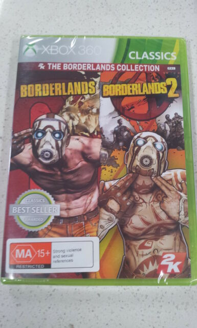 Borderlands 1&2 Collection XBOX 360 PAL New & Sealed (Works on Xbox One)