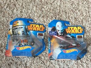 Star-Wars-HOT-WHEELS-CARS-CHOPPER-amp-THE-INQUISTOR-LOT-OF-2-NEW-SEALED-RARE
