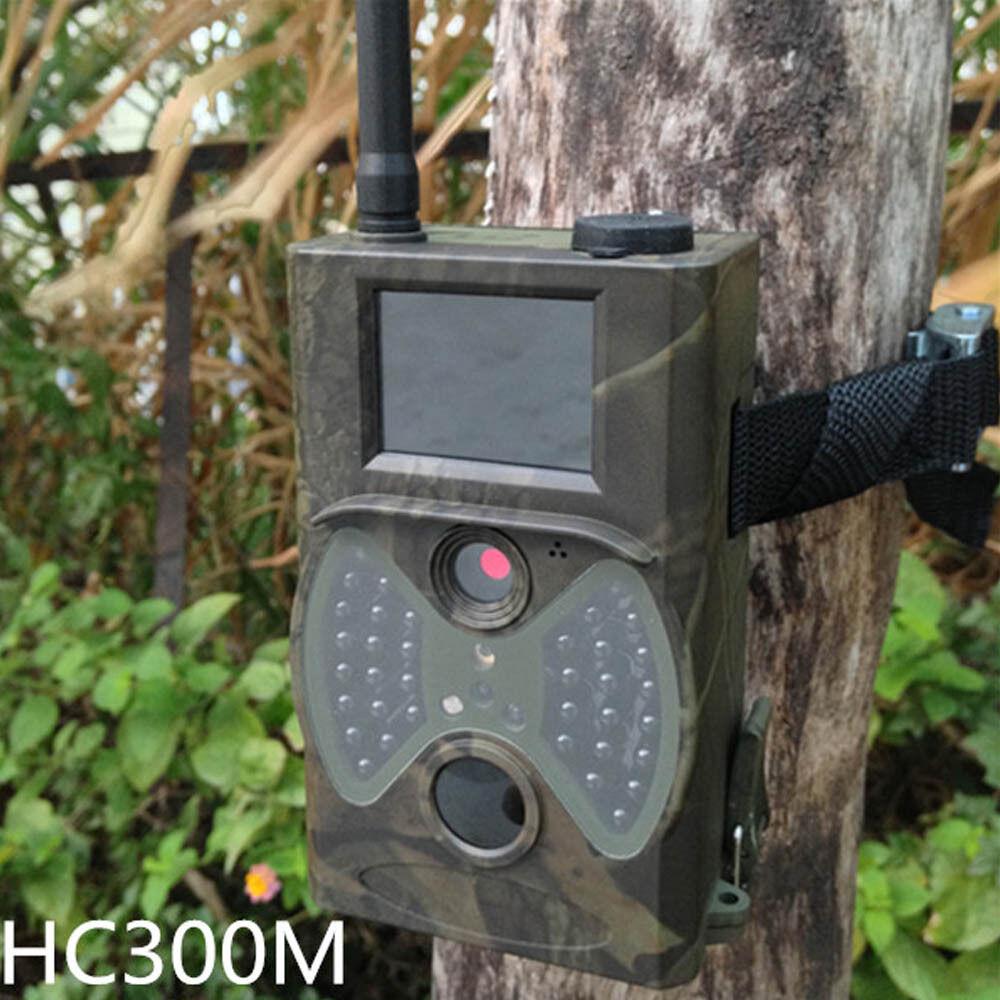 Hc300m Scout Caza Cámara 940nm Hd Gprs Mms IR cámara de trail Gsm Ir Led