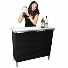 Portable Bar Table Serving Stand High Top Indoor Outdoor Patio Party Bar GoBar