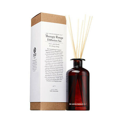 NEW The Aromatherapy Company Diffuser 250ml Rose Patchouli & Ylang Ylang