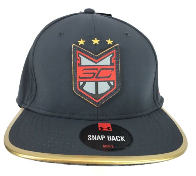 52c435b43c3e4 Under Armour UA Stephen Curry Sc30 Crest Snapback Hat Black 1278891 ...