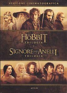 6 Dvd Box Cofanetto Trilogia LO HOBBIT + SIGNORE DEGLI ANELLI completa  nuovo | eBay