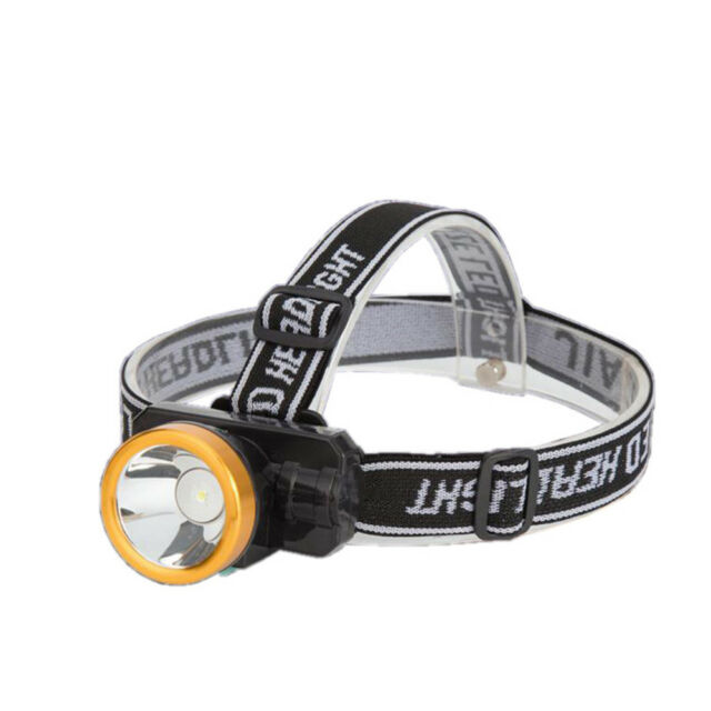 LED Outdoor Camping Flashlight Fishing Head Light Torch Lantern With Headband Z