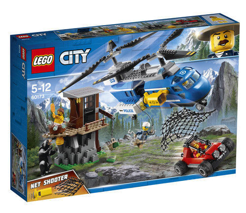 LEGO 60173 City Police Mountain Arrest Helicopter Toy New