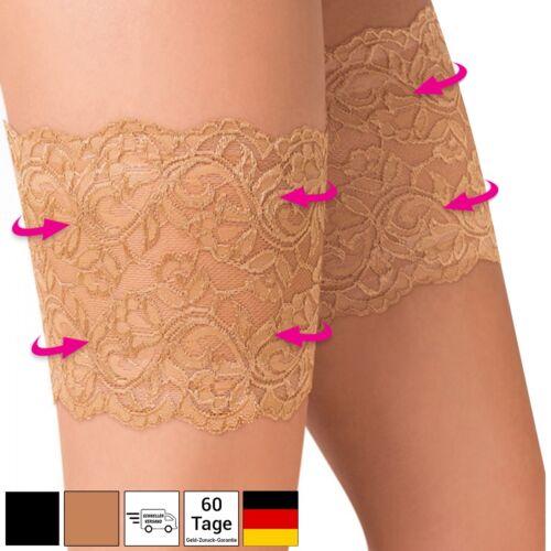Gabriella punta coscia NASTRI ANTI sfreghi Lace Thigh Bands anti-chafing