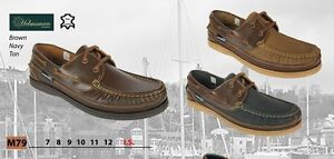 SEAFARER-HELMSMAN-DECK-SHOES-LOAFERS-MANS-BOATING-SAILING-FREE-SHIPPING