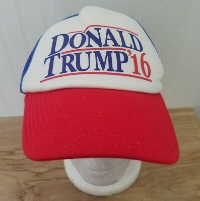 New Donald Trump /'16 President America Election Patriotic Curved Cap Hat Trucker