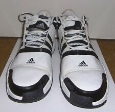 super popular 0349b 13270 Adidas Mens Size 13 Pilrahna IV White Black and Gray High Top Basketball  Shoes