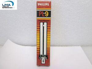 3x-PHILIPS-PL-9-LAMP-LIGHT-BULB-9Watt-27-2-PIN-6-1-2-034-PL-S-NEW