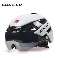 Costelo VH-IKON Helmet bicycle Helmet MTB Road Bike use Goggles 1 or 3 lens