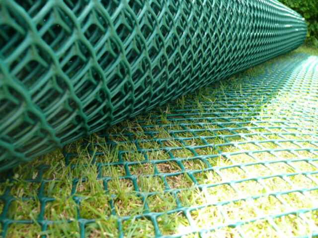 2x30m Grass Reinforcement Mesh Driveway Car Park Ground Protector 150 Pin
