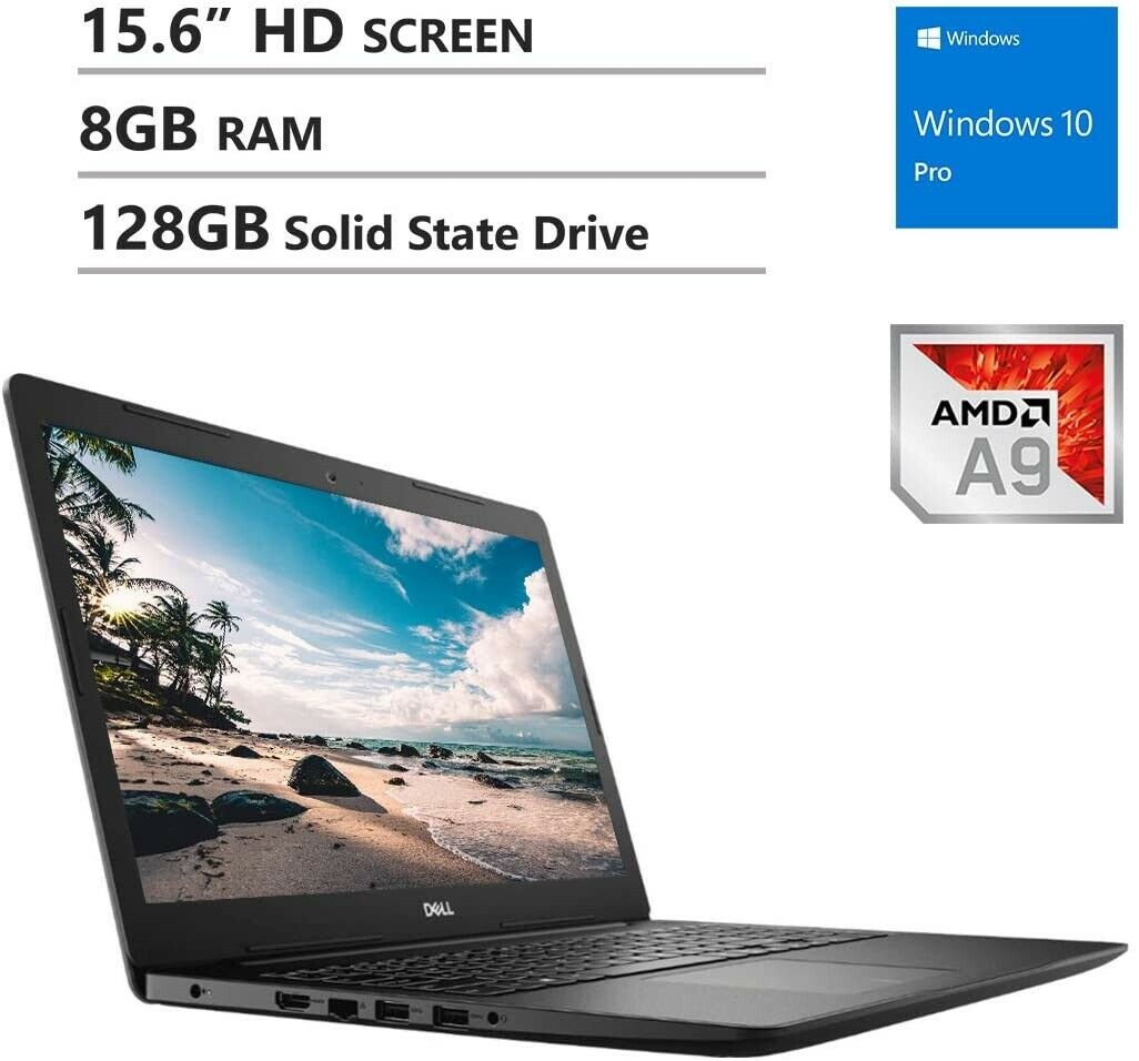 Lenovo Ideapad 130 15 Laptop Amd A9 9425 8gb Ram 128gb Ssd Dvdrw Win10pro For Sale Online Ebay