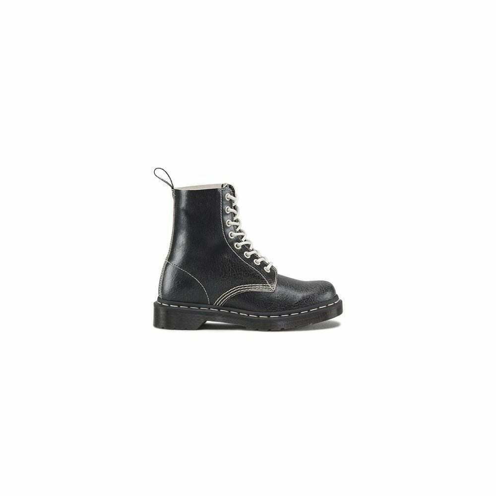 DR MARTENS PASCAL WOMENS BOOT BLACK WHITE