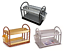 2-Tier-Round-Plastic-Bowl-Plate-Dish-Drainer-Drying-Rack-with-Cutlery-Holder thumbnail 1