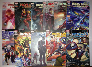Lot-de-Iron-Man-amp-Avengers-vol-1-du-N-1-au-N-12-en-TBE