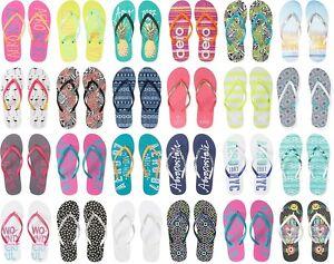 970893a1e1b AERO AEROPOSTALE Aero Logo Womens Flip Flops Sandals Thongs Sizes  6 ...