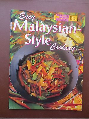 Cook Book EASY MALAYSIAN STYLE Cookery Recipes Asian Australian Womens Weekly