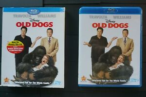 Old Dogs Blu Ray Slip Cover Robin Williams John Travolta Free Shipping Ebay