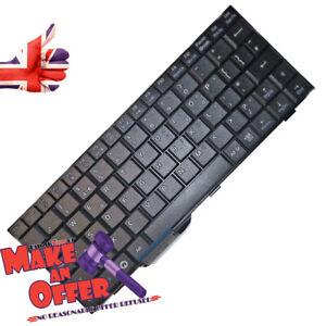 Asus-Eee-PC-700-701-900-901-Averatec-1020-Tastiera-UK-Nuovo-Originale-Nero