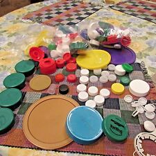 Plastic Caps Soda Water Bottle Arts Crafts School Projects Multi Colors