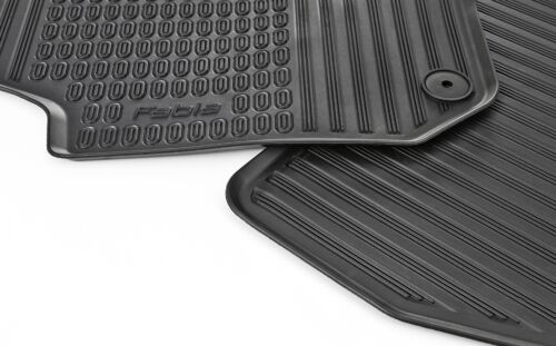 ONLY FRONT//solo davanti Rubber foot MATS FOR FABIA 5j 5j1061551