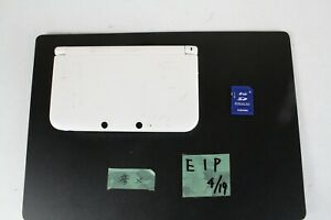 Nintendo 3DS LL XL console white Japan tested working E1P