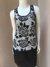 0a1a150eb4c250 item 3 NWOT Karen Kane Woman Top Tank With Sequins Fully Lined SZ XS Made  In USA -NWOT Karen Kane Woman Top Tank With Sequins Fully Lined SZ XS Made  In USA